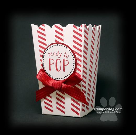 Baby Popcorn Box