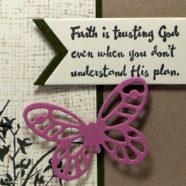 Have a Little Faith, Butterfly!