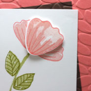 Breaking Out the Bunch of Blossoms Stamp Set