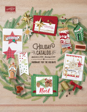 Welcome to the Stampin' Up! Holiday Catalog!