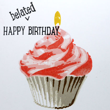 Quick Cupcake Birthday Card