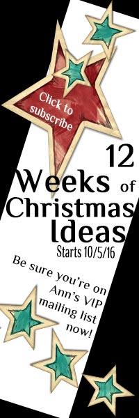 12 Weeks of Christmas Ideas