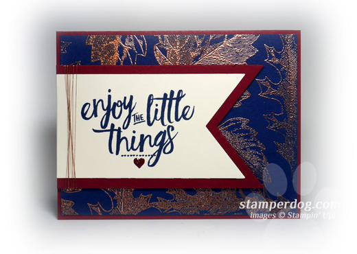 Enjoy the Little Things Card