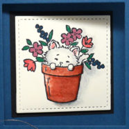 Old Fashioned Card for Cat Lovers