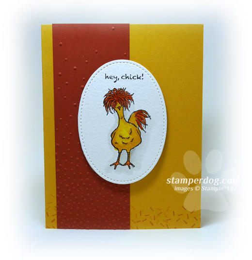 Chick Birthday Card