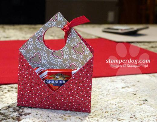 Candy Gift Card Holder