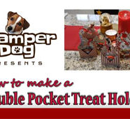 How to Make a Double Pocket Christmas Treat/Gift Card Holder