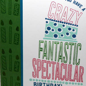 Teen Birthday Card