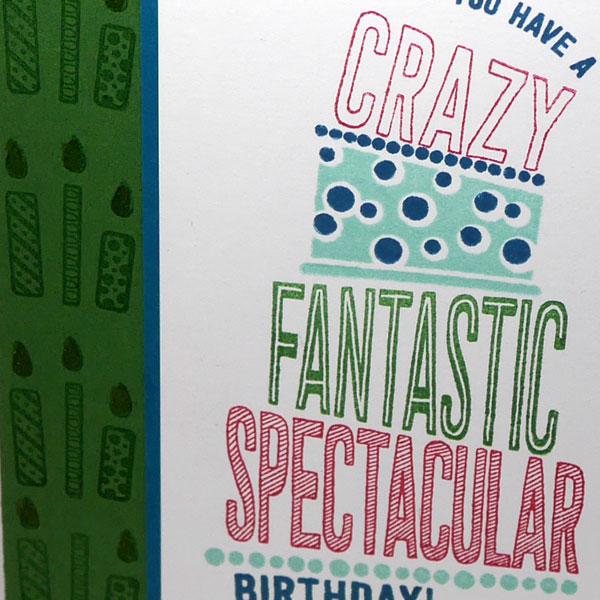 Sneak Peek Birthday Card for a Teenager