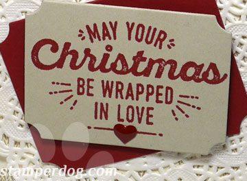 A Christmas Card with a Hug