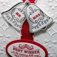 Perfect Christmas Wedding Card