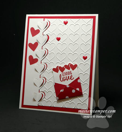 Big Red Valentine Card