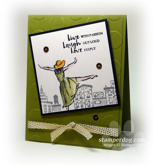 Stampin' Up! Swap Card