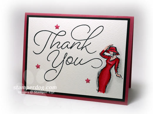Stylish Thank You Card