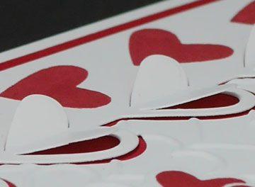 Big Red Valentine Card