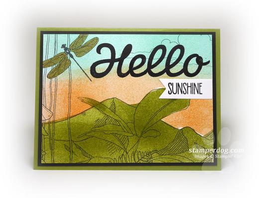 Spring card idea