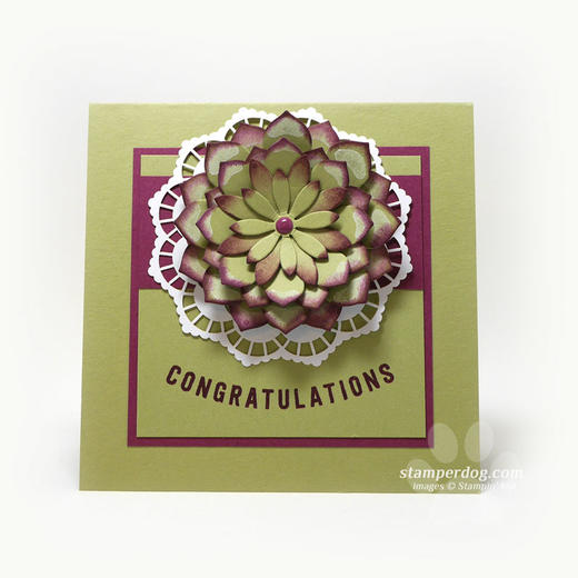 Square Congratulations Card