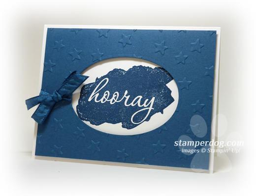 Window Birthday Card