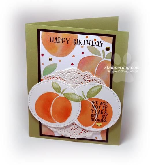 Summer Birthday Card Idea
