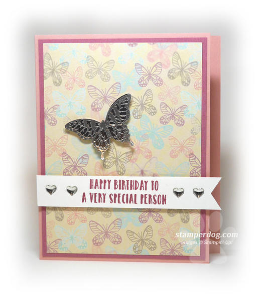 Butterfly Birthday Card Idea