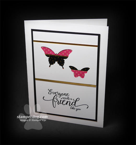 Butterfly Card for a Friend