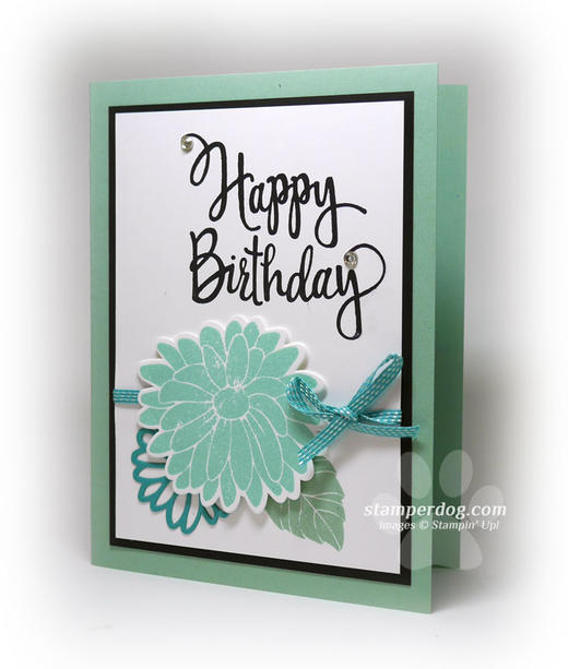 Mint Birthday Card Idea