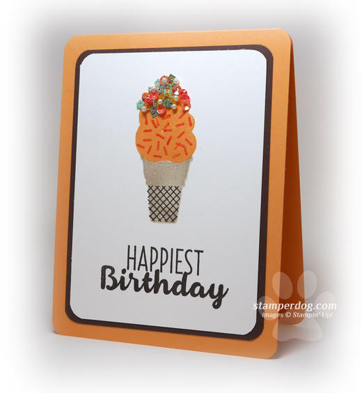 Cheerful Birthday Card Idea