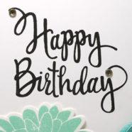 Mint Birthday Card