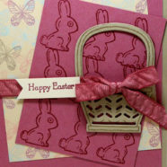 A Little Purple Easter Card