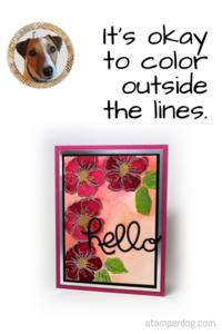 Watercolor Card Idea