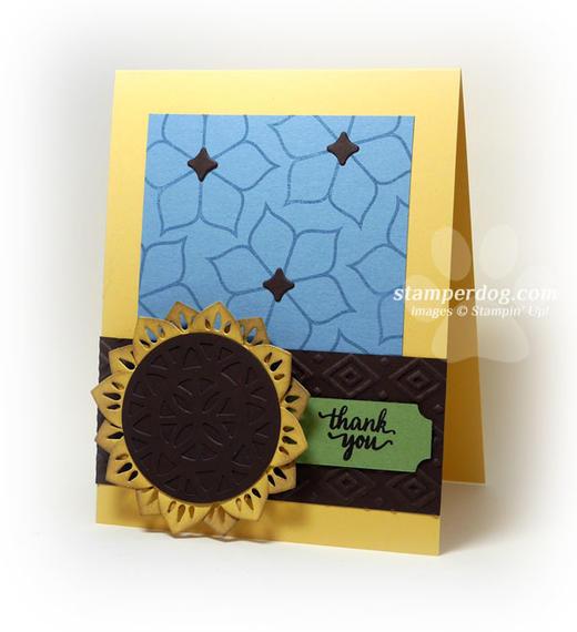 Mojo Thank You Card Idea