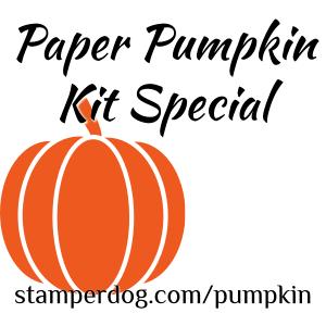 Paper Pumpkin Kit Special