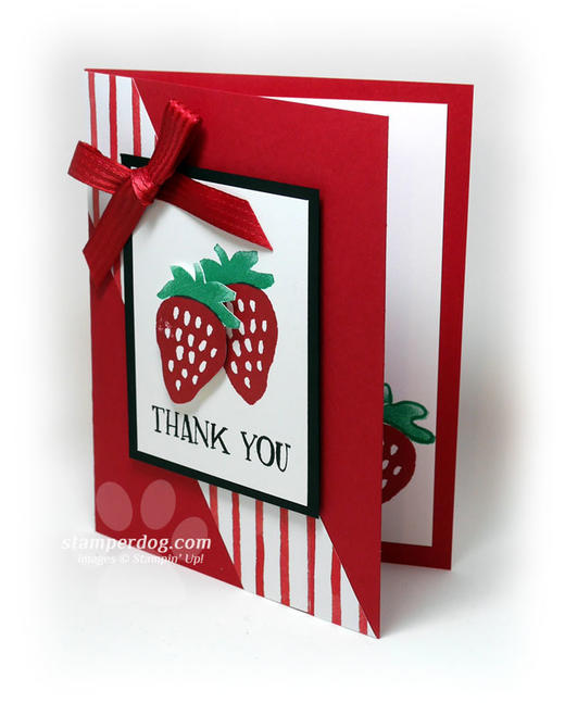 Quick Red Thank You Card