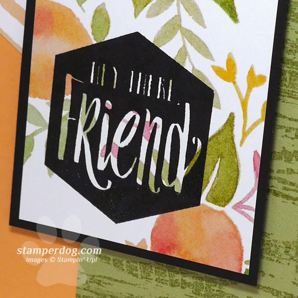 Making a Card for a Friend