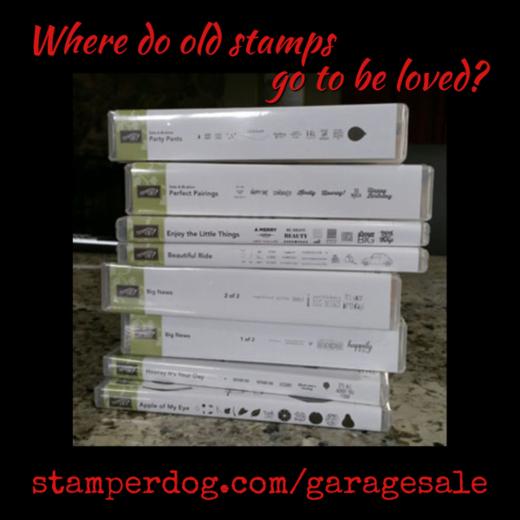 Stamp Garage Sale