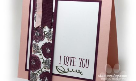I Love Stamping for You!