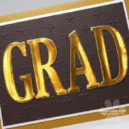 Quick and Elegant Graduation Card