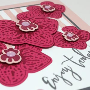 I Like This Orchid Card