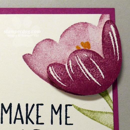 Happy Tulip Card