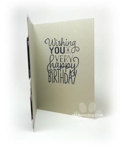 Masculine Cupcake Birthday Card