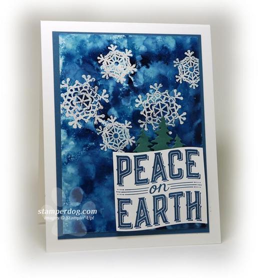 Magic Snowflake Card