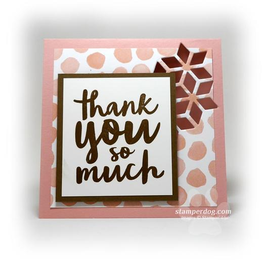 Clean and Simple Thank You Card
