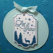 Sneak Peek Christmas Card Swap