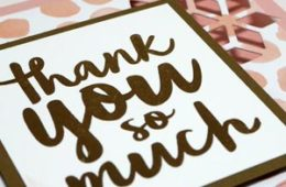 A Quick and Impressive Thank You Note