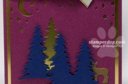 Non Traditional Christmas Card Colors