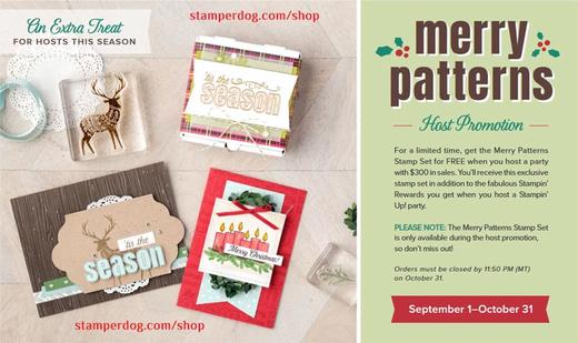 Merry Patterns Offer