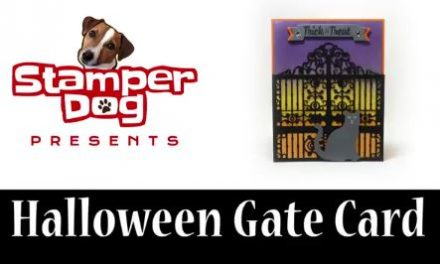VIDEO: How to Make a Halloween Gate Card