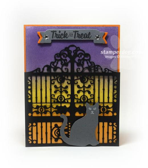 Halloween Gate Card