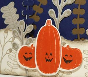 Scenic Pumpkin Card