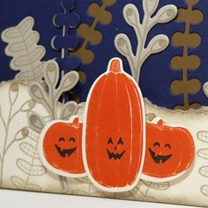 Scenic Pumpkin Card
